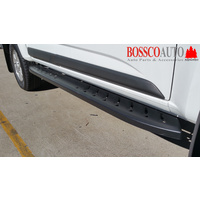 Black Steel Shark Side Steps Suitable for Isuzu D-max Extended Cab 2012-2018