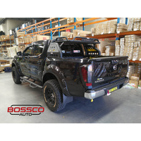 Loaded Sports Roll Bar with Roof Top Basket Suitable for Nissan Navara D40 2005-2015