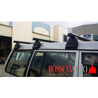 Black ROOF RACKS suitable for NISSAN PATROL GQ 1987-1997