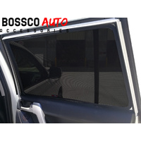 Magnetic Window Sun Shades suitable for Toyota Landcruiser 200 Series 2008-2020