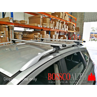 Silver Roof Cross Racks Suitable for Toyota Rav-4 2000-2012