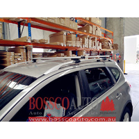 SILVER ROOF RACKS suitable for Hyundai Tucson 2005-2010
