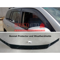 Bonnet Protector and Weathershields suitable for TOYOTA LANDCRUISER 2016-2018