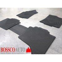 All Weather Rubber Floor Mats suitable for Toyota Hilux Double Cab 2015-2020