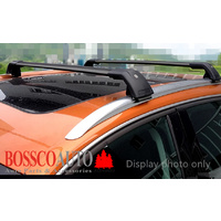 Black Roof Racks suitable for Toyota Fortuner 2015-2020