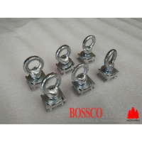 Set of 6 Eye Bolt For Heavy Duty Roof Racks