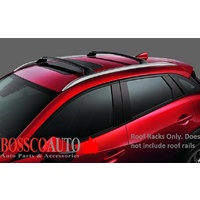 Black Roof Racks suitable for Mazda CX-5 2017-2020