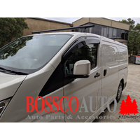 Tinted Weathershields Window Visor Weather Shield Suitable For New Toyota Hiace 300S 2020