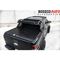 Loaded Sports Roll Bar with Wildtrack Style Retractable Roller Shutter Suitable For Ford Ranger PX Mk1 Mk2 MK3 2012-2021