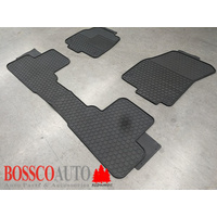 All Weather Rubber Floor Mats suitable for Land Rover Range Rover Evoque 2010-2020
