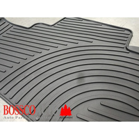 All Weather Rubber Floor Mats suitable for Nissan X-Trail 2014-2020