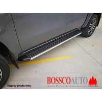 Black Side Steps Running Boards suitable for Nissan Navara NP300 2015-2019