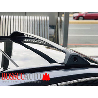 Black Aluminium Roof Cross Racks Suitable For Toyota RAV4 RAV-4 50 Series 2019+
