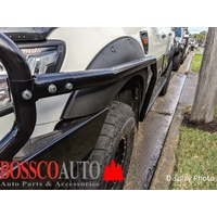 Heavy Duty Black Side Steps With Brush Bars Suitable For Mazda BT-50 2005-2011