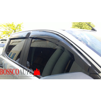 Black Weather shield suitable for Mazda BT-50 2012-2019
