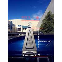 "Bracket for Heavy Duty ROOF RACKS 280mm ( 11"")"