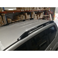 Black ROOF RAILS suitable for Toyota Prado 120s 2003-2009