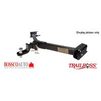 Trailboss Tow Bar suitable for ISUZU D-MAX TURBO (no step) 2012-2017 (Includes Wiring Kit)