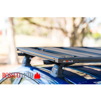Titan MKII Aluminium Tray Black Roof Basket Tray Cargo Carrier 1800mm x 1200mm